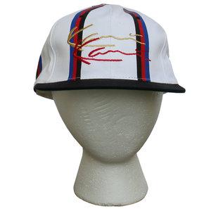 fd4179059a5 Vintage 90s Bootleg Karl Kani Striped hat.