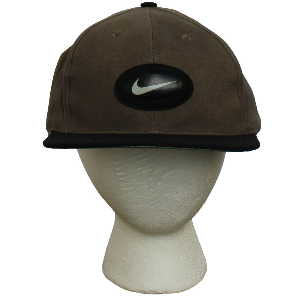 pretty nice 2e4cb 69ff5 ... inexpensive vintage nike air max grey black strap back hat nwt 77aa4  459f0