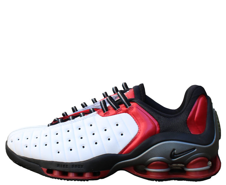 official photos 9a502 46460 Nike Shox VC 2 Low White   Red (Size 7.5) DS