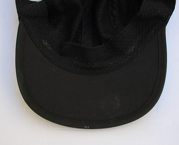 Vintage 90s Nike Agassi black and gold mesh hat. bottom of Nike hat.jpg a36d66f75de9