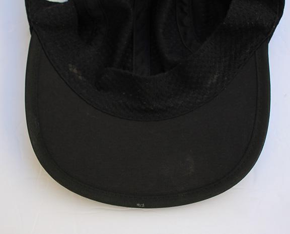 Vintage 90s Nike Agassi black and gold mesh hat. bottom of Nike hat.jpg a36d66f75de9