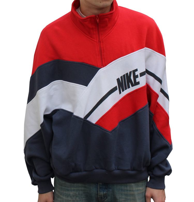 nike 1/4 zip fleece pullover