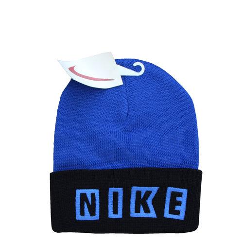Vintage Nike Blue   Black Block Letter Beanie NWT — Roots 1df66a8d7de9