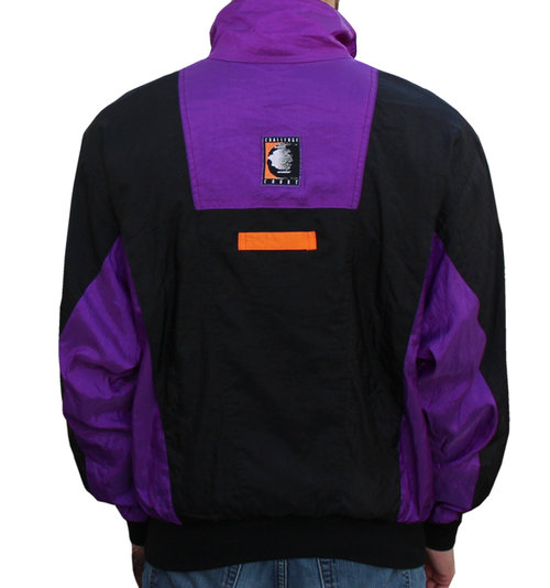 Vintage Nike Challenge Court Windbreaker Black   Purple   Orange ... 83555d97a
