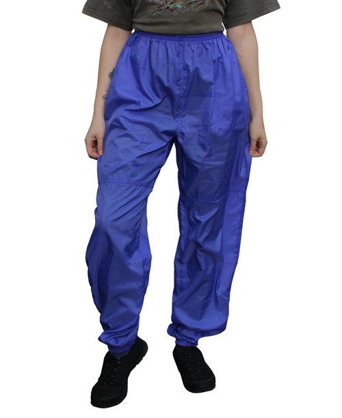 Womens Vintage Nike Swoosh Lavender Windbreaker Pants (Size Womens L ... ea001368e