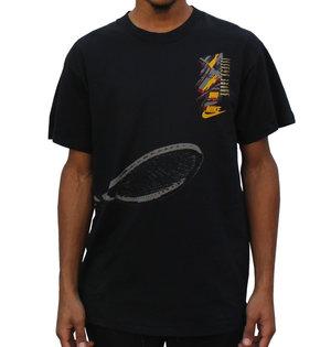 bf41af3ef9 Vintage Nike Andre Agassi Graphic T Shirt Black.