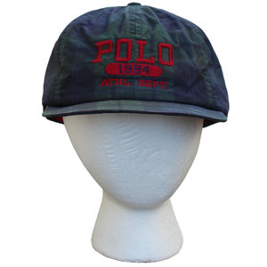 9739b377fc8a4 vintage Polo 1994 athletic dept strap hat .jpg
