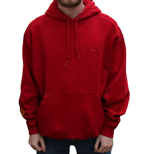 42854c2c34e3 Vintage Nike Swoosh Red Hoodie (Size M) NWT — Roots