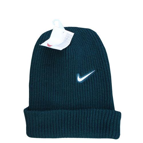 71c46385b5e Vintage Nike Green   White Swoosh Beanie NWT — Roots