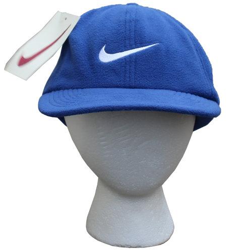 Vintage Nike Therma F.I.T. Blue Fleece Hat — Roots e9864619e57
