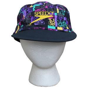 Vintage 90s Speedo Colorful Nylon 5 panel hat. c6bf11c48100