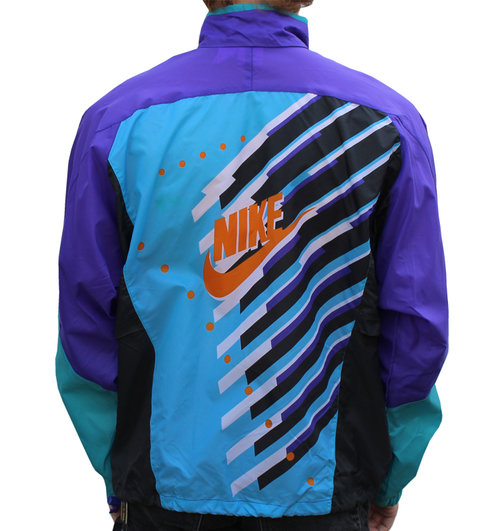 f4ace9cdc5cf Vintage Nike Colorful Windbreaker (Size XL) NWT — Roots