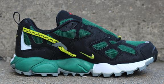 c6a1df200bd89 Nike Air Terra Albis 2 Black   Evergreen   Cactus (Size 6.5) DS — Roots