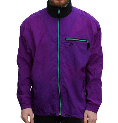 60783845d7 Vintage Nike ACG Purple   Aqua Windbreaker (Size M) — Roots