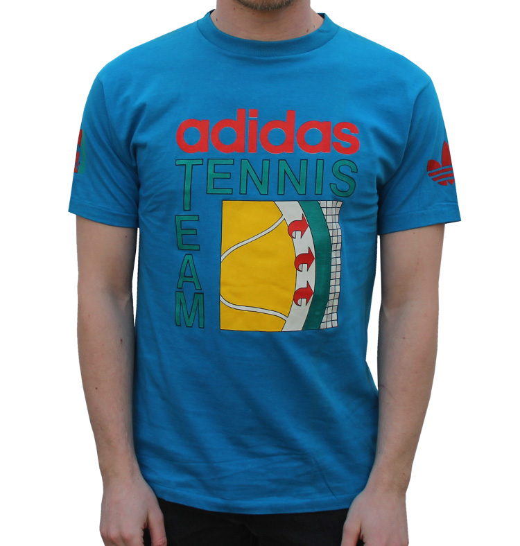 Vintage Adidas Team Tennis T Shirt (Size S) NWOT — Roots