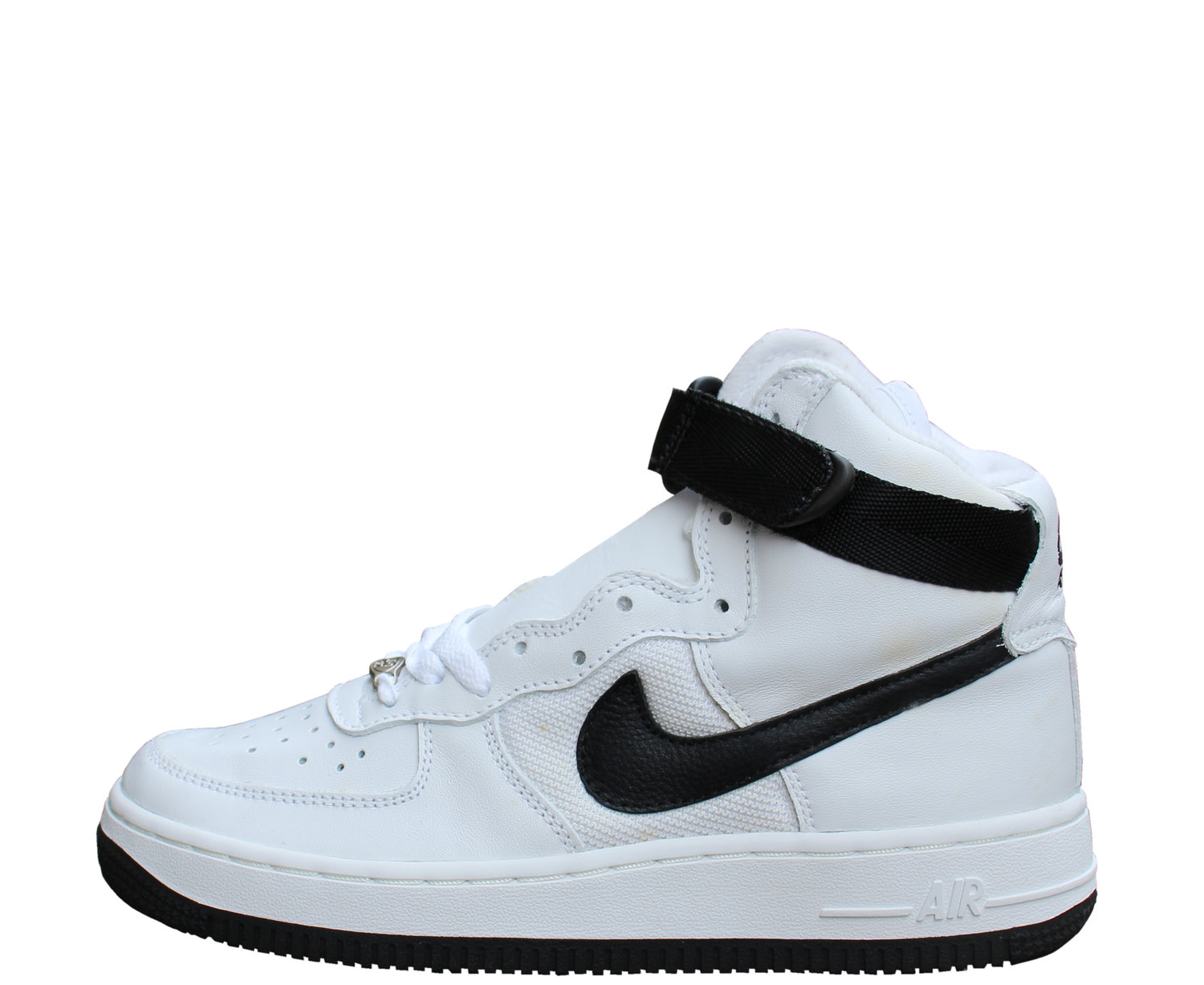 Kids Nike Air Force 1 High White Black Size 5 5 Ds Roots