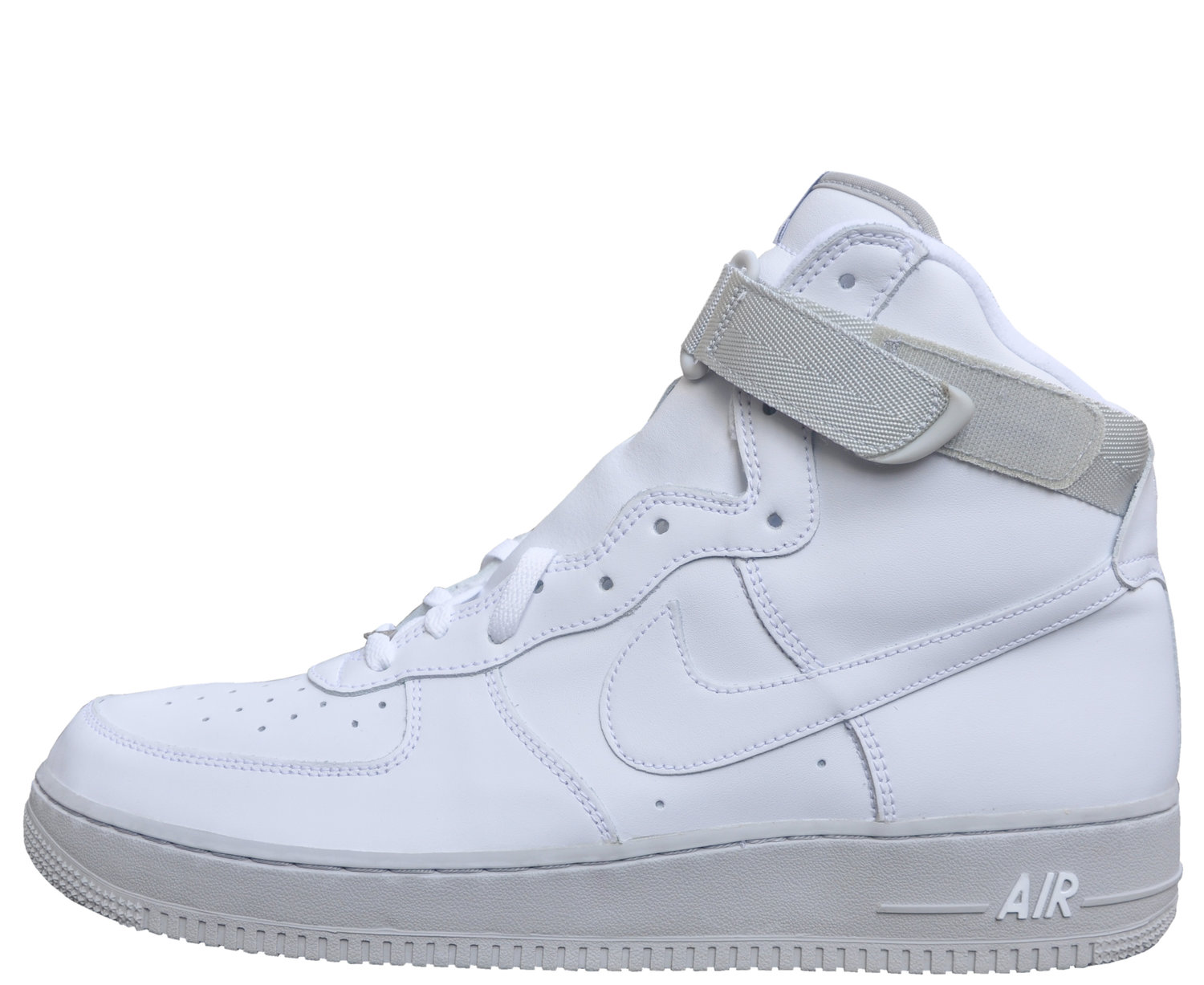 Nike Air Force 1 High White Neutral Grey Size 13 Ds Roots