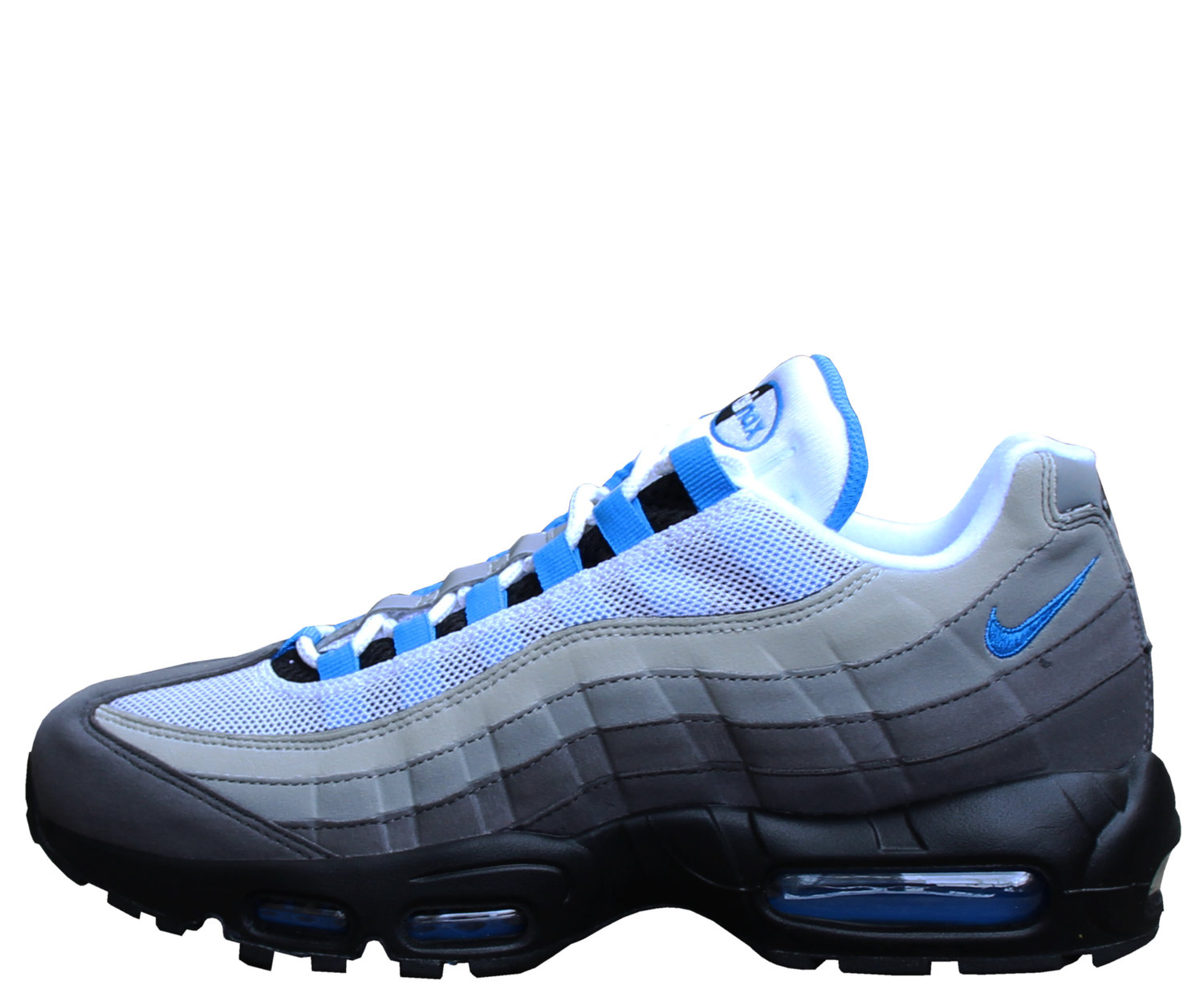 Nike Air Max 95 White / Crystal Blue (Size 9) DS — Roots