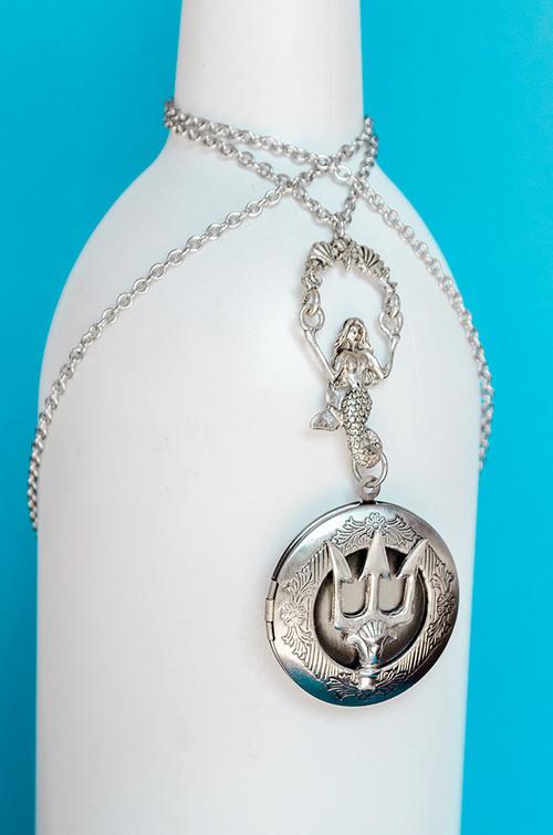 Poseidons trident locket skeltons treasures poseidons trident locket aloadofball Choice Image