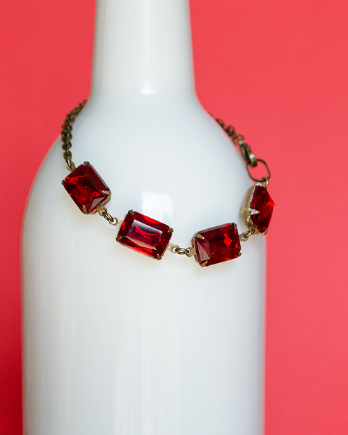 item birthday her this listing il gemstone ruby ombre like ymoo bracelet july gift for