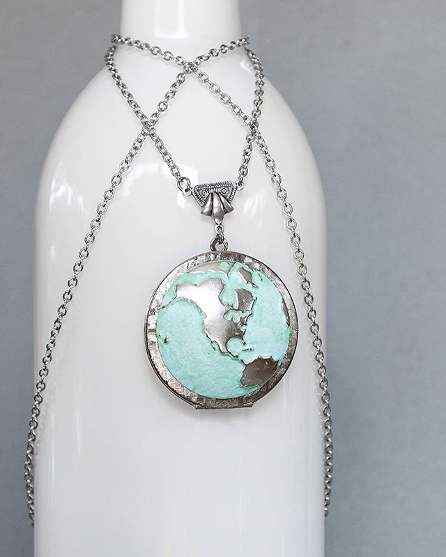 Happy Earth Day! We're volunteering by cleaning up and planting trees in our community. What are you doing to help Mother Nature today? 🌎 • #skeltonstreasures #earthday #earthjewelry #earth #earthnecklace #earthlover #handmade #handcraftedjewelry #handmadejewelry #handcraftedjewelry #etsy #etsyjewelry