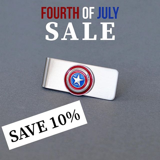 Happy Independence Day! Enjoy 10% off all purchases! 🇺🇸 • #fourthofjulysale #fourthofjuly #independenceday #independencedaysale #etsysale #etsyseller #etsysellersofinstagram #etsyjewelry #handmadeetsy #handmadejewelry #handcraftedjewelry #handcraftedetsy #captainamerica #steverogers #weddinginspo #weddinggifts #groomsmen #groomsmengift #superherowedding #redwhiteandblue #redwhiteandboom #redwhiteblue