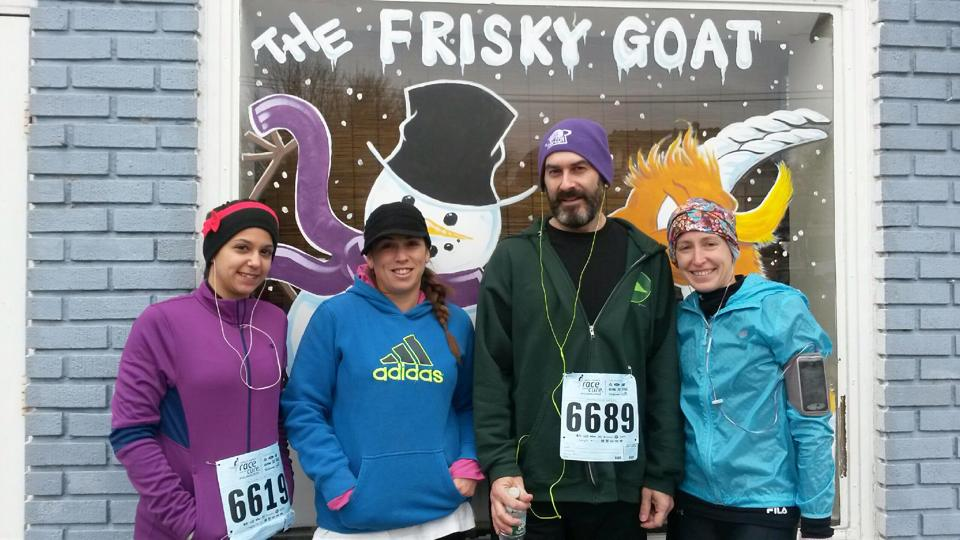 Frisky Goat's 1st 5k Winter Series, 2014