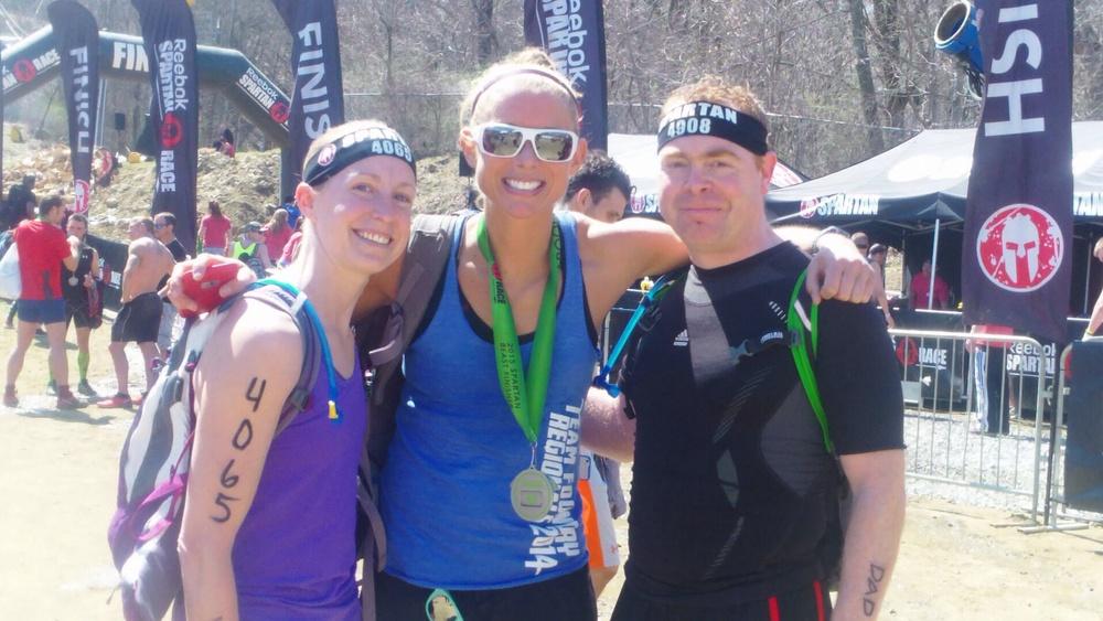 Jen, Amelia and myself.