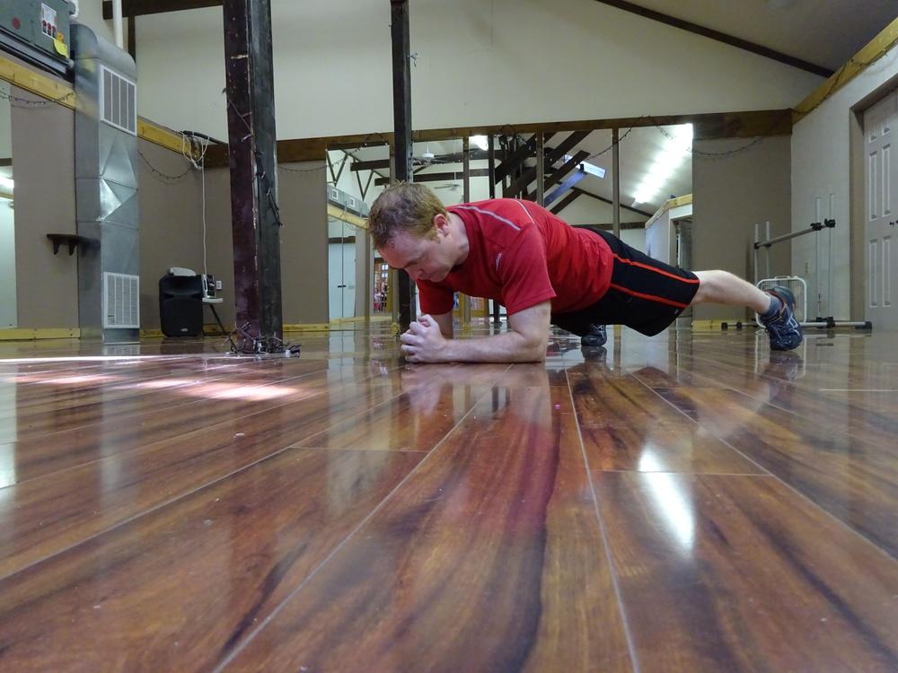 A single Plank Jack...
