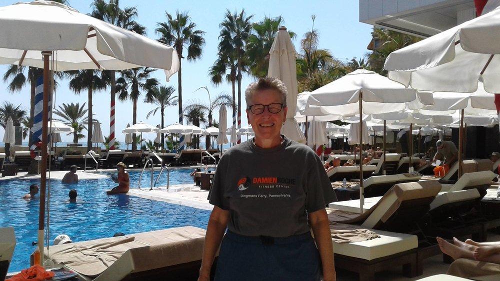 Janice in Marbella, Andalucia