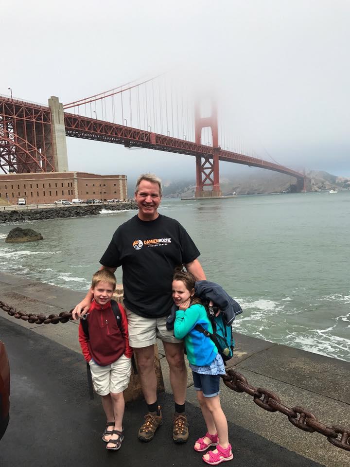 Dave takes us to The Golden Gates, San Francisco.