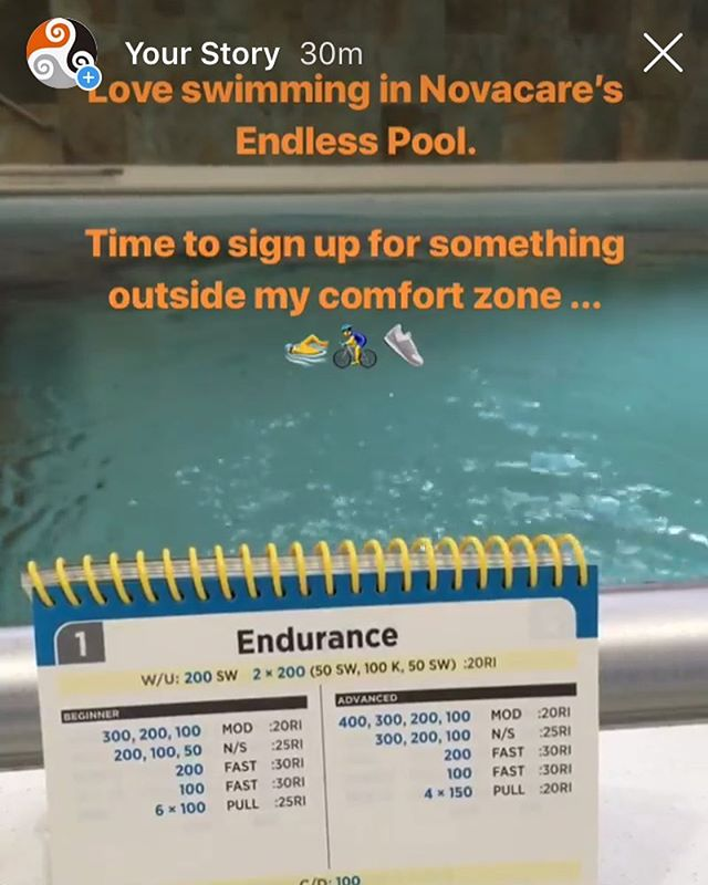Novacare's #EndlessPool Is an Awesome resource for all swimmers or Triathletes in #DingmansFerry area.  Fairly awesome for us Swim Coaches too ! 💪🏊‍♂️👍 😊 #DamienRocheFitness  #swim #coach #swimfit #swimeasy #triathlon #triathlontraining