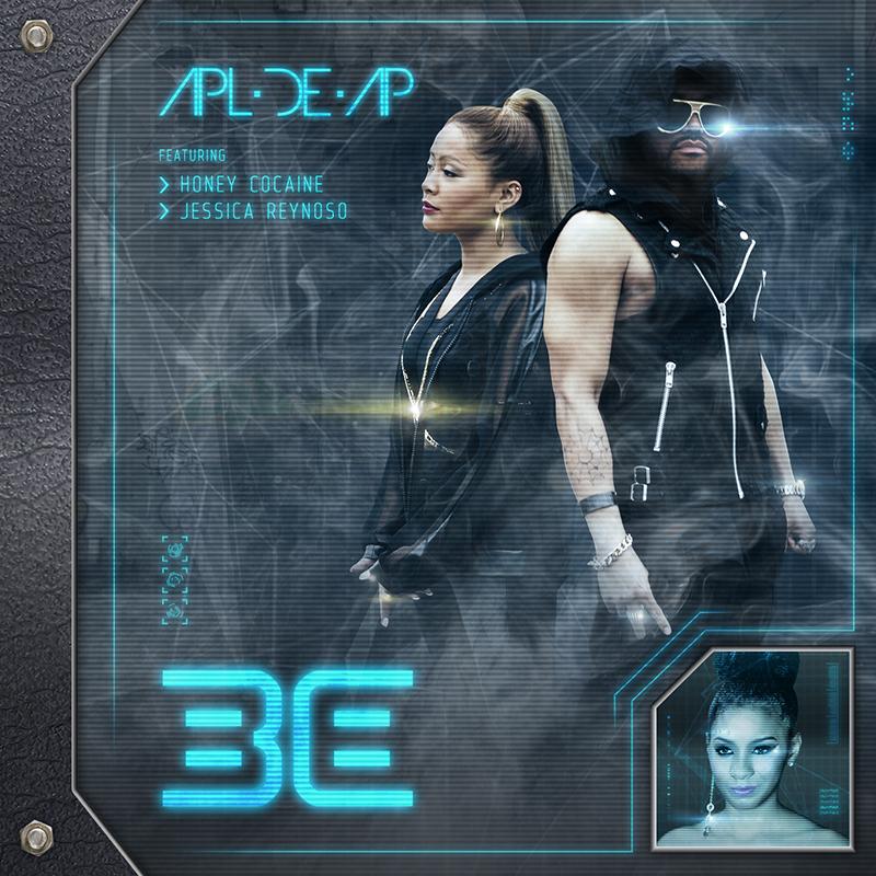 "Digital album cover for ""Be""."