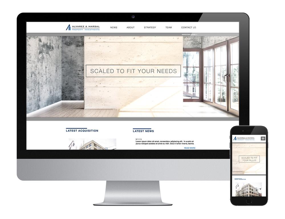 Alvarez &Marsal Property Investments website. View full website at www.am-pi.com.