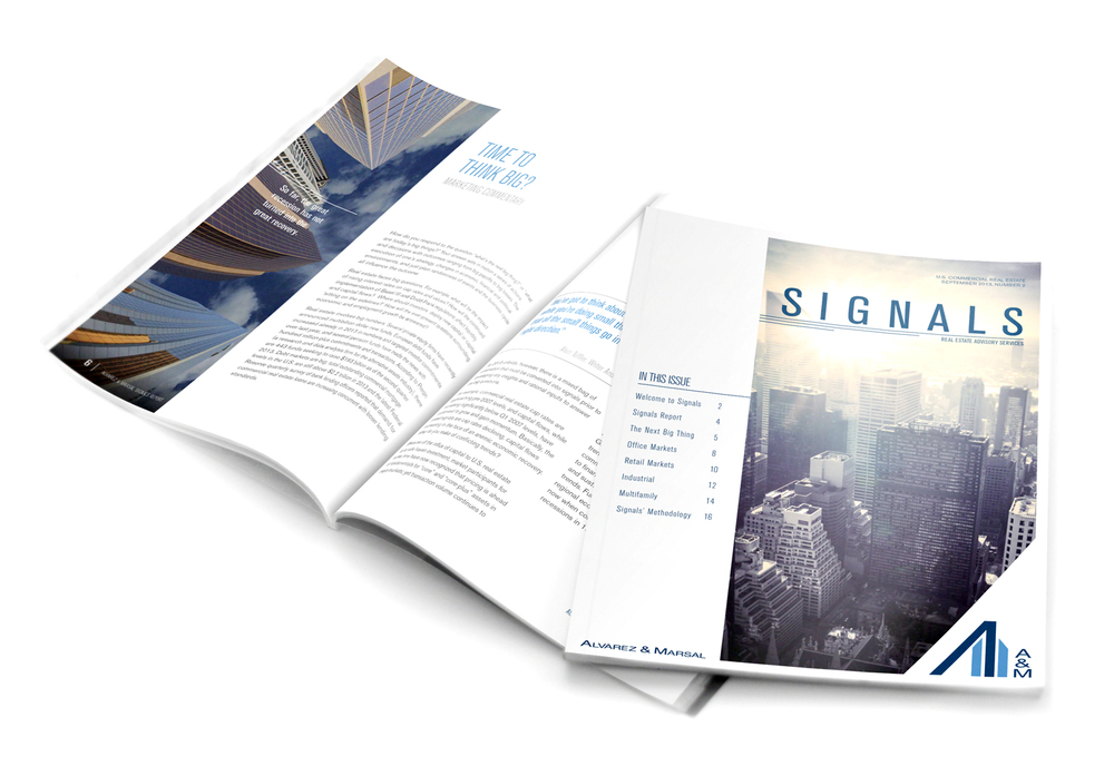 Signals, Volume 1 brochure.