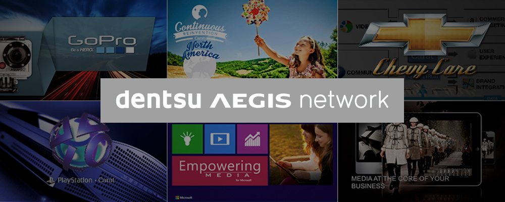 Dentsu Aegis Network presentation design