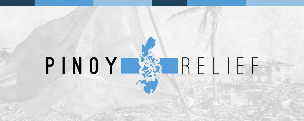 Pinoy Relief branding