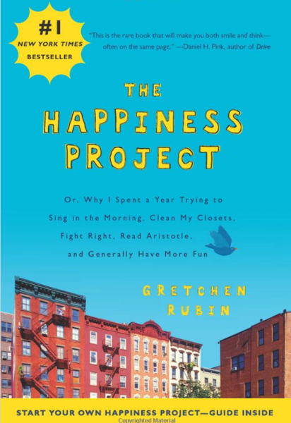 http://www.amazon.com/Happiness-Project-Morning-Aristotle-Generally/dp/006158326X/ref=sr_1_1?s=books&ie=UTF8&qid=1428968281&sr=1-1&keywords=happiness+project
