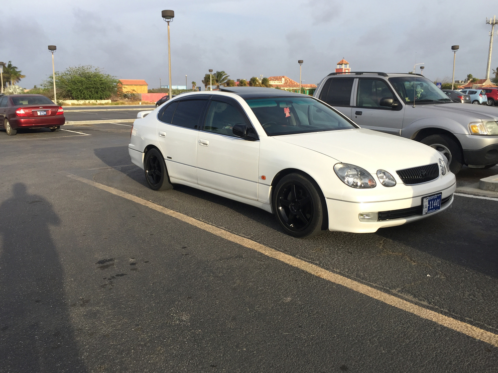 Toyota Aristo jdm cars in aruba