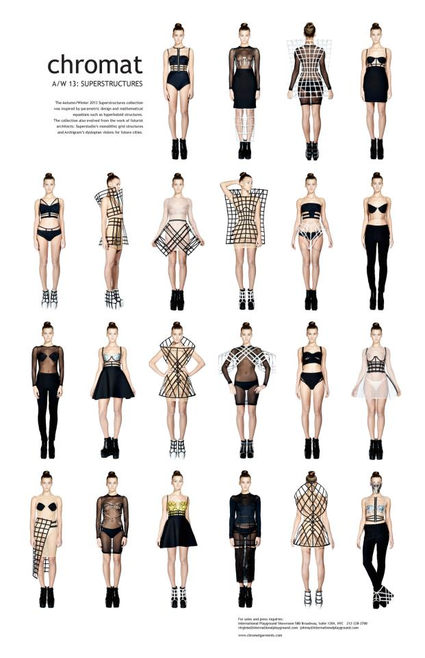 loving  chromat garments .