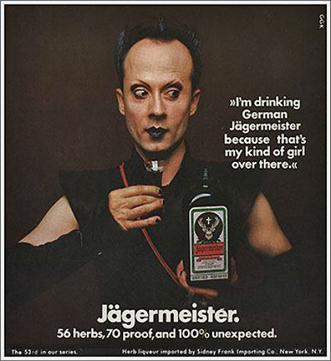 Klaus Nomi for J  ä  germeister.