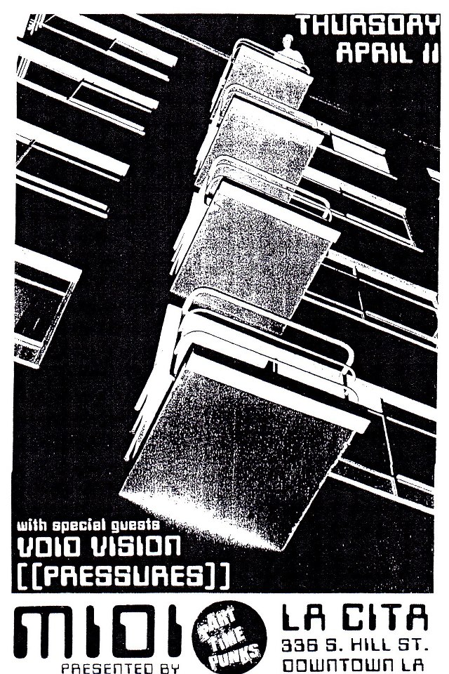 Archive the brvtalist tonight at la cita in downtown la part time punks presents midi with void visions m4hsunfo
