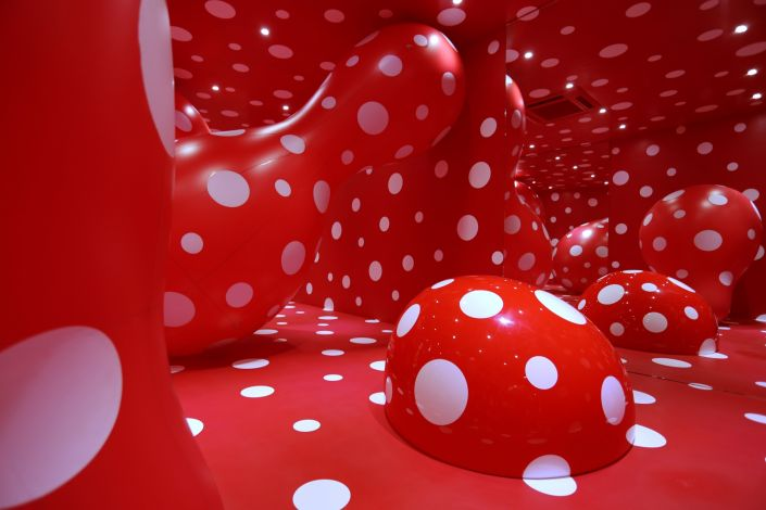 Yayoi Kusama - Infinity Theory (2015) at the Garage Museum of Contemporary Art.