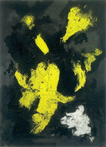 LUCIO FONTANA -Concetto spaziale, 1957 (Courtesy Tornabuoni Art, London)