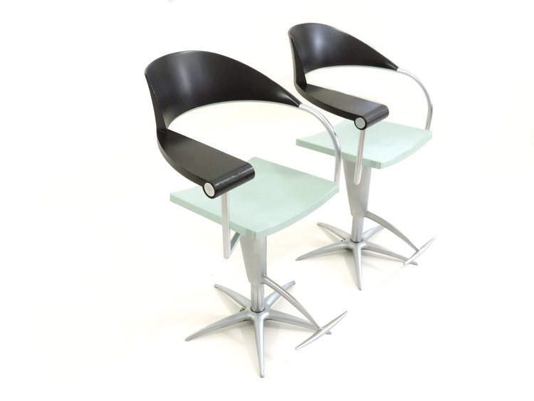 Techno Chair for L'oreal designed by Philippe Starck. Available for purchase through Hopper + Space.
