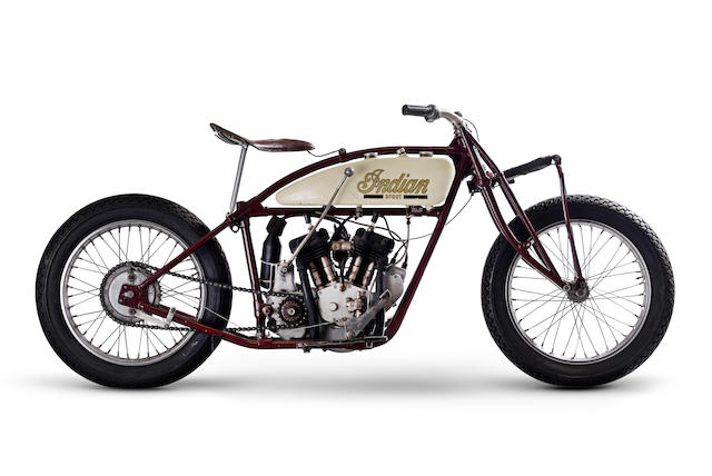 "1927 Indian 600cc Scout, ""Wall of Death"""