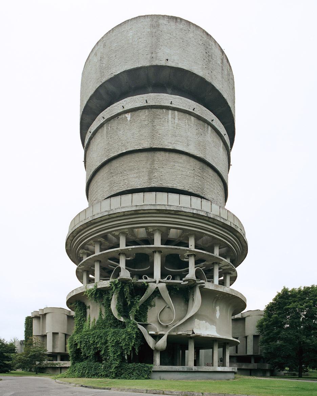 Balneological Hospital Water Tower, Druskininkai, Lithuania, 2004