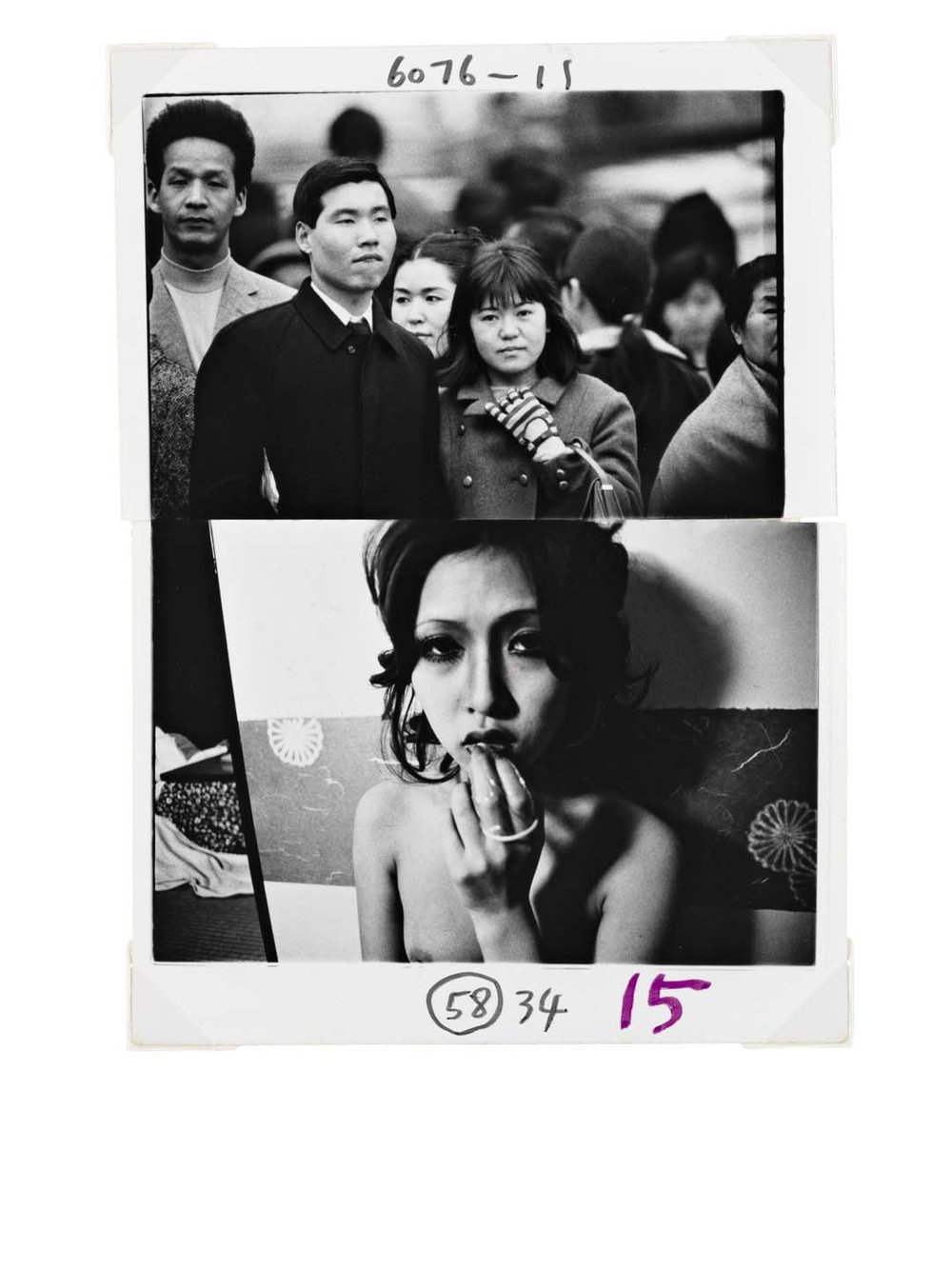 Kinbaku, 2010, Polaroid © Nobuyoshi Araki . Courtesy artspace AM, Tokyo