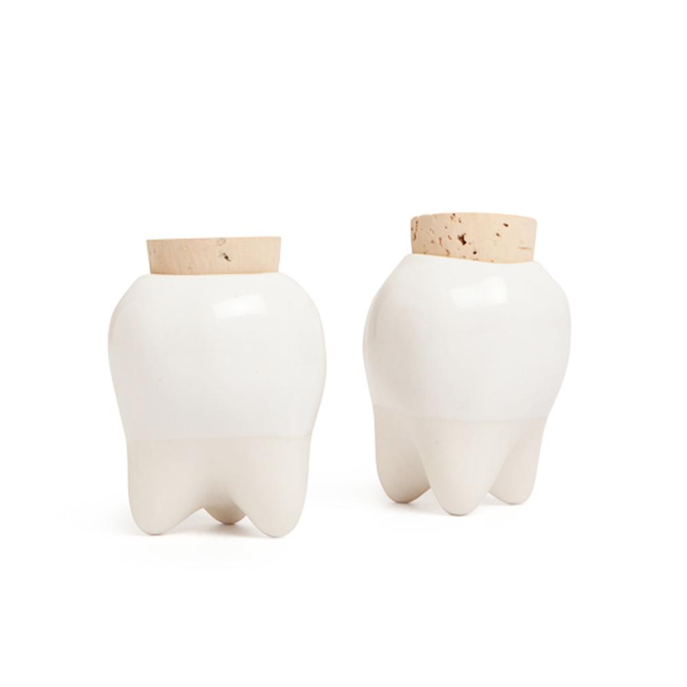Tooth Vessel Heirloom Jar by A Zygmunt