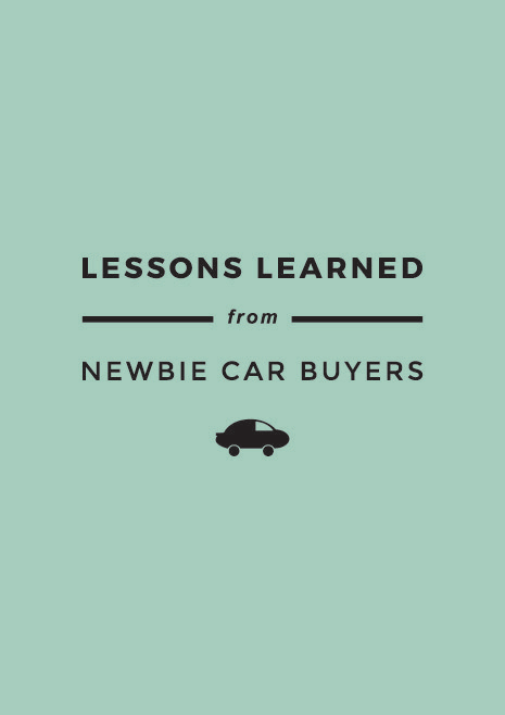 Lessons Learned From Newbie Car Buyers | MBSTYLED.COM